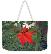 Ready To Fall Weekender Tote Bag