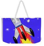 Really Cool Rocket In Space Weekender Tote Bag