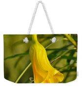 Really Yellow Flower Weekender Tote Bag