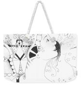 Recalling Dreams Weekender Tote Bag
