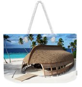 Reception Dhoni. Maldives Weekender Tote Bag