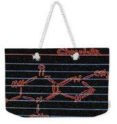Recipe For Chocolate Weekender Tote Bag