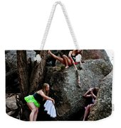 Recruiting Wild Untamed Dancers Weekender Tote Bag
