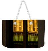 Rectangular Reflection Weekender Tote Bag