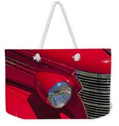 Red 1938 Chevy Coupe Weekender Tote Bag
