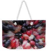 Red And Black Explosion #01 Weekender Tote Bag