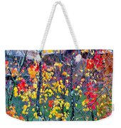 Red And Gold In Quarry At Elephant Rocks State Park Weekender Tote Bag