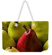 Red And Green Pears  Weekender Tote Bag