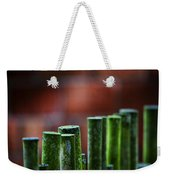 Red And Green Too Weekender Tote Bag
