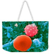 Red And White Blood Cells, Sem Weekender Tote Bag