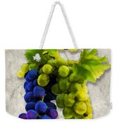 Red And White Grapes Weekender Tote Bag