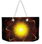 Red And Yellow Star Weekender Tote Bag