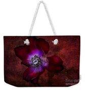 Red Anemone Weekender Tote Bag