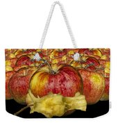 Red Apples And Core Weekender Tote Bag
