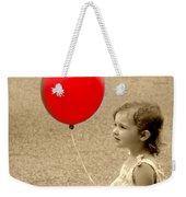 Red Baloon Weekender Tote Bag