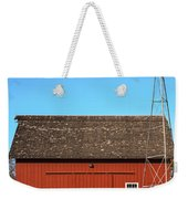 Red Barn And Windmill Weekender Tote Bag