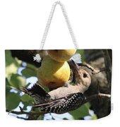 Red-bellied Woodpecker - Yummy Pears Weekender Tote Bag