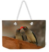 Red-billed Oxpeckers Weekender Tote Bag