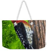 Red Breasted Sapsucker Weekender Tote Bag