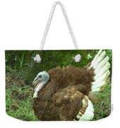 Red Burbon Turkey Weekender Tote Bag