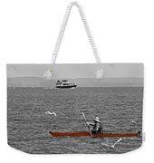 Red Canoe Weekender Tote Bag