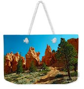Red Canyon Trail Weekender Tote Bag