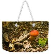 Red Caped Mushroom 1 Weekender Tote Bag