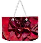 Red Carnation With Heart Weekender Tote Bag