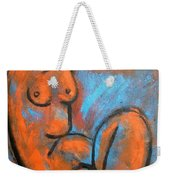 Red Caryatid - Nudes Gallery Weekender Tote Bag