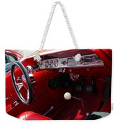 Red Chevy Impala Weekender Tote Bag
