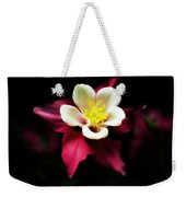 Red Columbine Weekender Tote Bag