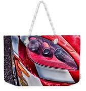 Red Corvette Weekender Tote Bag