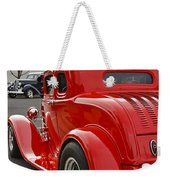 Red Coupe Weekender Tote Bag