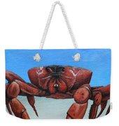 Red Crab Weekender Tote Bag