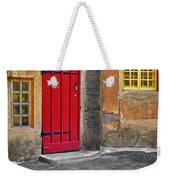 Red Door And Yellow Windows Weekender Tote Bag