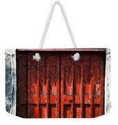 Red Door Weekender Tote Bag