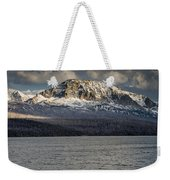 Red Eagle Mountain Evening Weekender Tote Bag