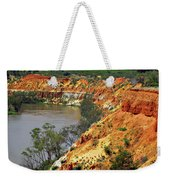 Red Eroded Soil Weekender Tote Bag
