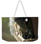 Red Eyed Demon Squirrel Weekender Tote Bag