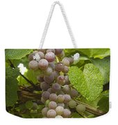 Red Grapes On The Vine Weekender Tote Bag
