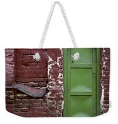 Red Green Facade. Belgrade. Serbia Weekender Tote Bag