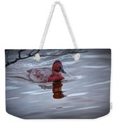 Red Headed Duck Weekender Tote Bag
