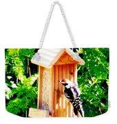Red Headed Woodpecker Weekender Tote Bag