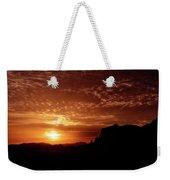 Red Hot Sunrise  Weekender Tote Bag