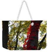 Red Ivy Climb Weekender Tote Bag