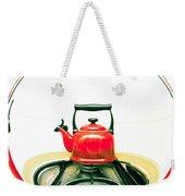 Red Kettle Weekender Tote Bag