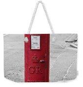 Red King George V Postbox Weekender Tote Bag