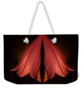 Red Liliy Flowers Scent The Night Weekender Tote Bag