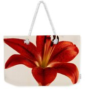 Red Lily Number Three Weekender Tote Bag