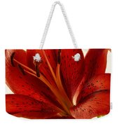 Red Lily Number Two Weekender Tote Bag